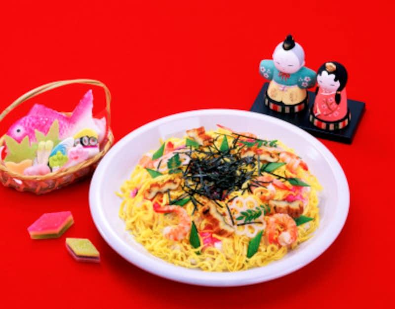 ちらし寿司、ひな祭りに食べる由来・具材の意味・献立