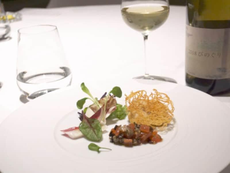 ワインとのペアリングコース