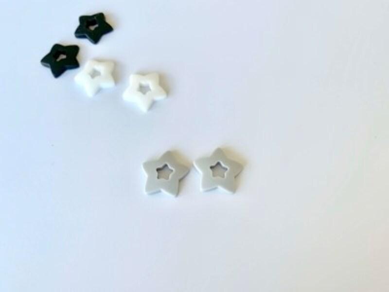 グレー・ホワイト・ブラック3組セットで110円(セリア)