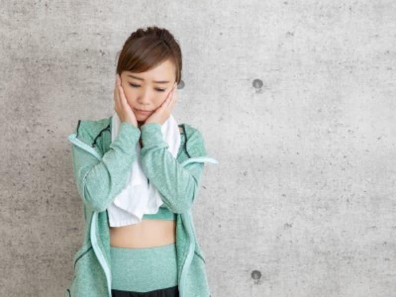 運動が苦手な女性のイメージ