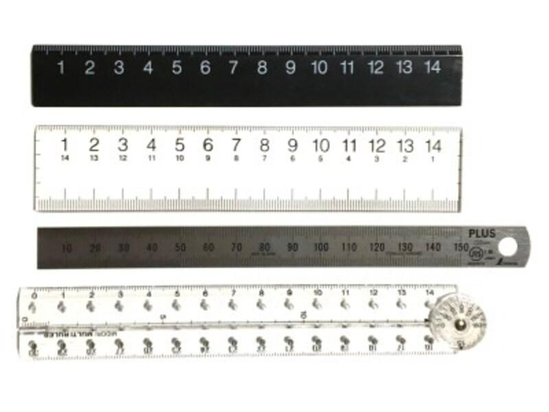いろいろな長さ15センチの定規