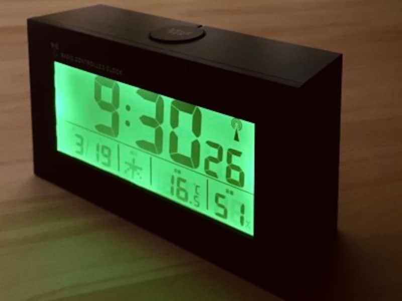 ニトリデジタル電波時計