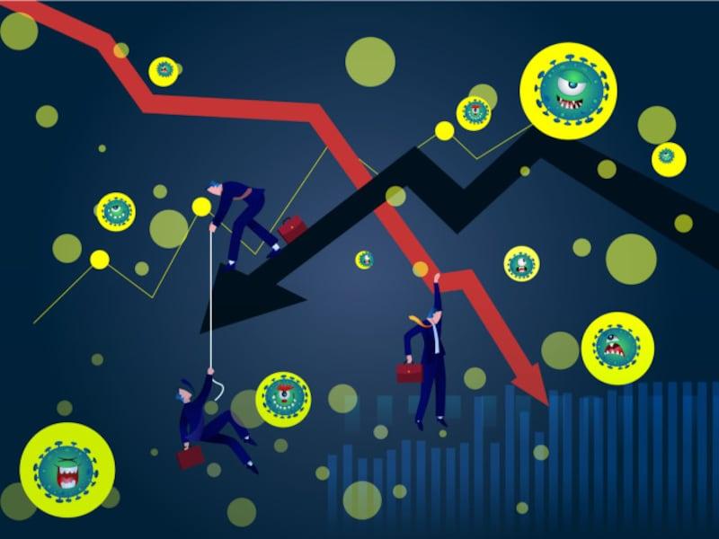 コロナショックで金融市場は大荒れの状況が続く