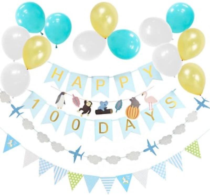 百日祝い・100日祝い デコレーション