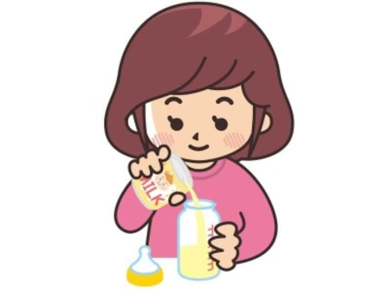 液体ミルク 飲ませ方使い方常温