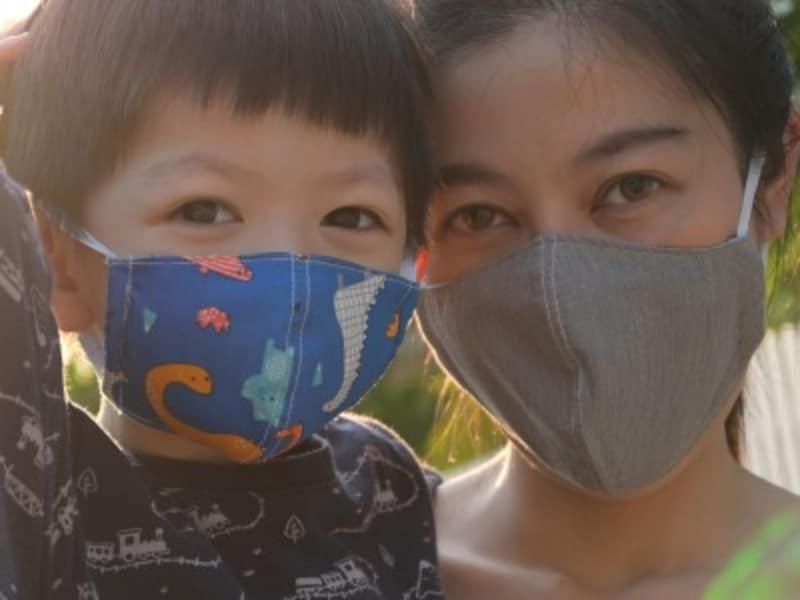 布マスクの使い方