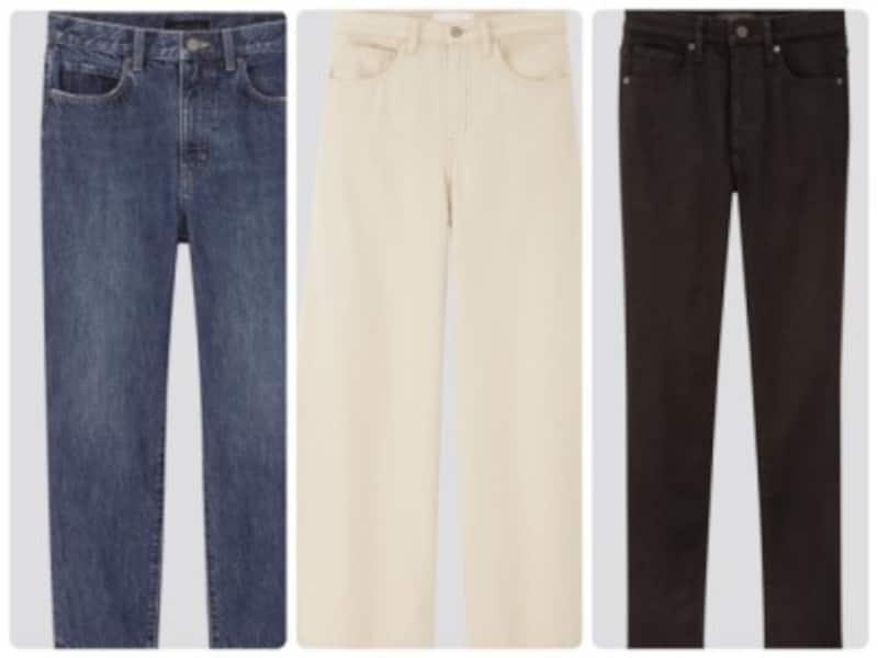 ユニクロデニムで今、大人の女性が履きたいのはこの3つ