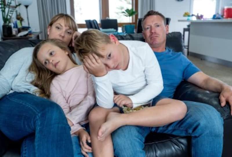 コロナ自粛でストレスを感じている家族