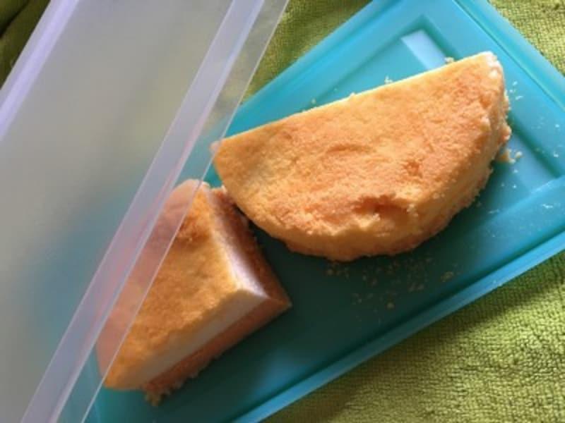 ケーキの冷凍方法