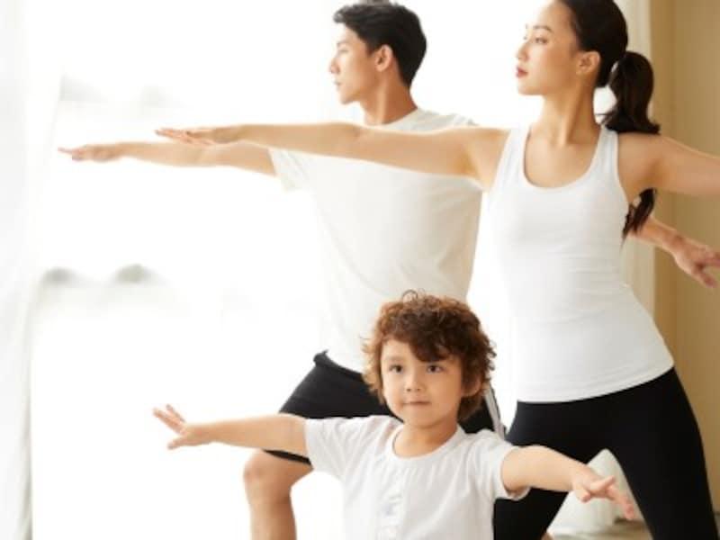 おうち時間・室内遊び 室内運動・おうちで楽しくできる運動