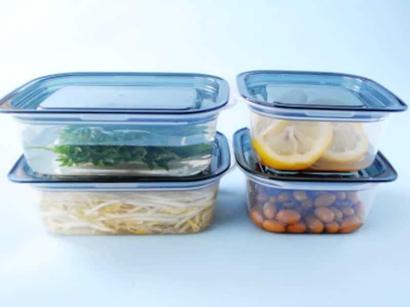 セリア「とにかく洗いやすい保存容器」