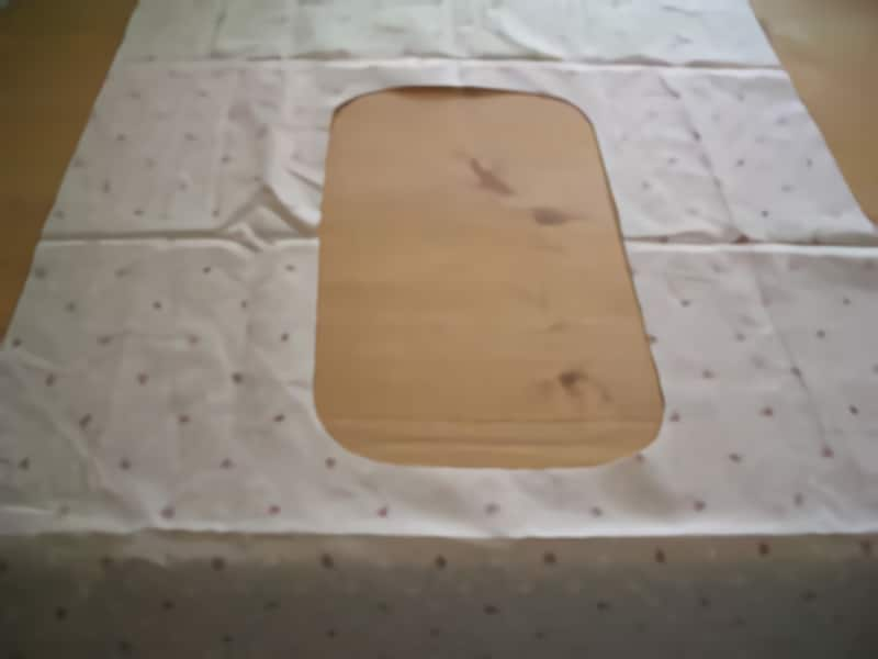 型紙不要で簡単なエコバッグの作り方