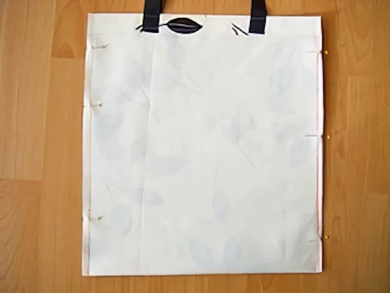 ビニール素材の丈夫なエコバッグの作り方