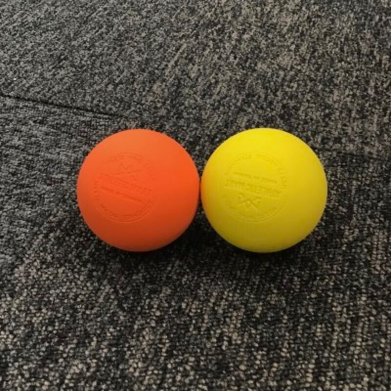 テニスボールよりラクロスボールをおすすめする理由