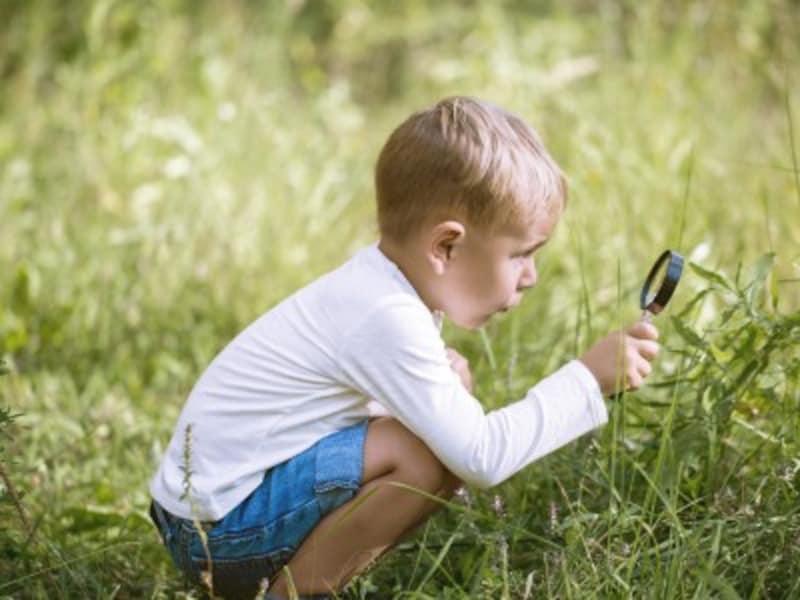 子どもが何に興味を持っているか、観察してみましょう