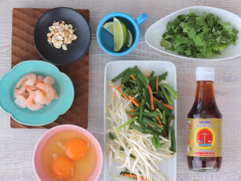 旅行気分が味わえる? タイの台所パッタイセット