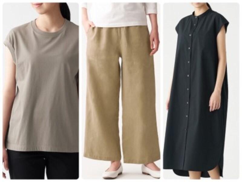 大人の夏のベーシック服は良質な無印良品で揃えたい!