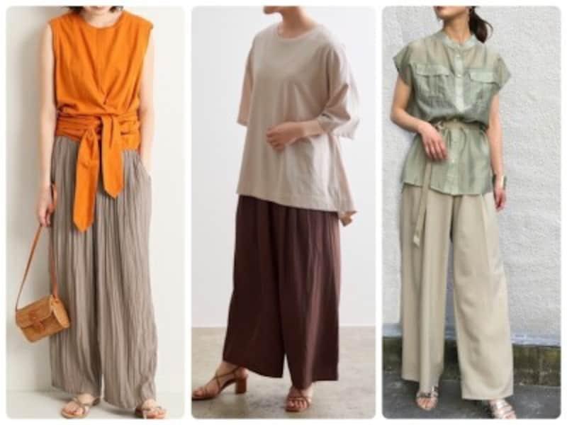大人の夏パンツに間違いなく使えるのはこの3タイプ!