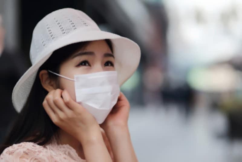 夏のマスク