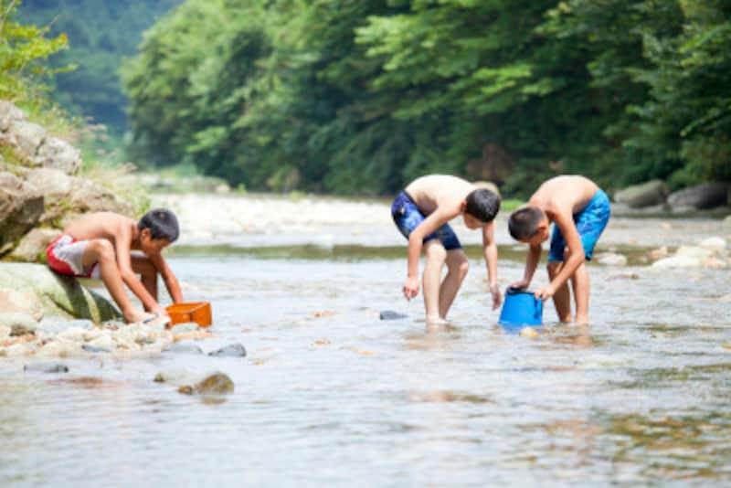 子どもの水難事故川での水難事故を防ぐための注意点