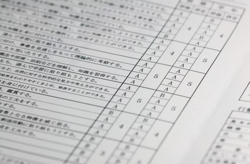 小学校の英語教育必修化により、5・6年生の外国語教科では成績が付く