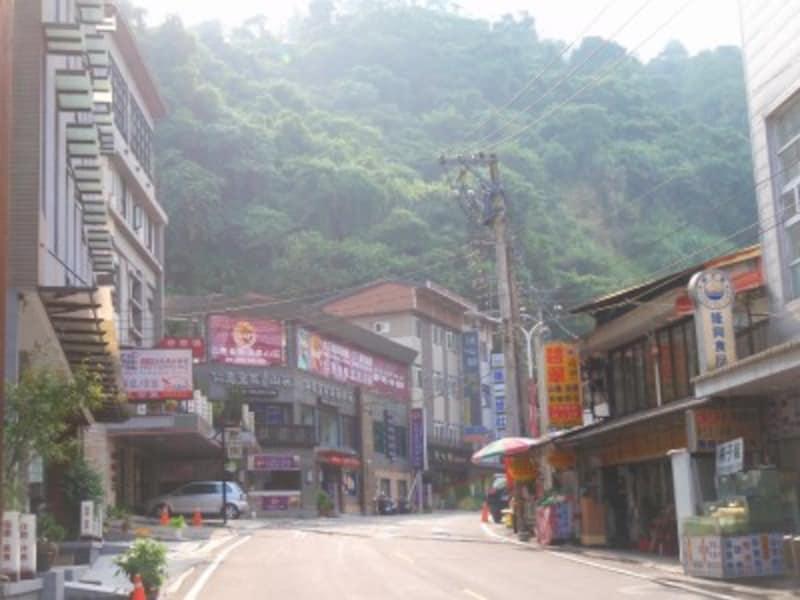 まるで日本の里山の温泉地のような風情。台湾中西部の関子嶺温泉