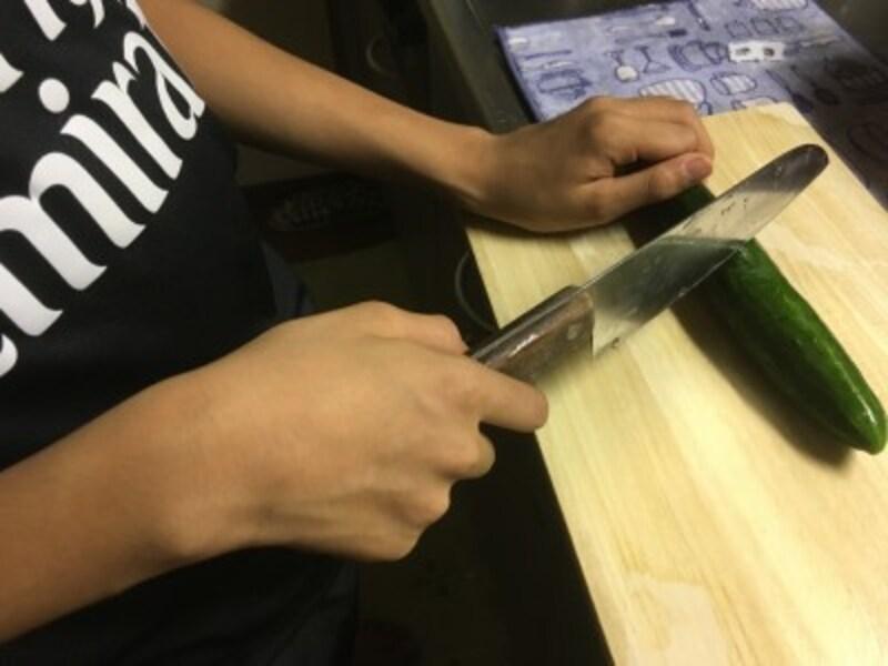 好きな野菜を水洗いして切るだけ。