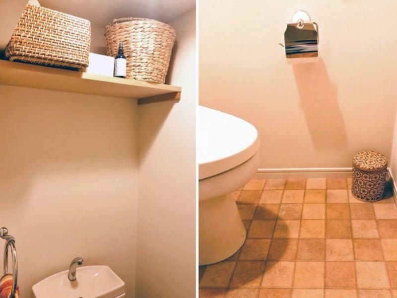 トイレの棚収納法
