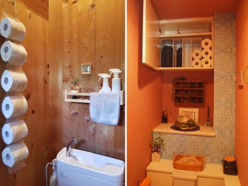 片付くトイレ収納とインテリア