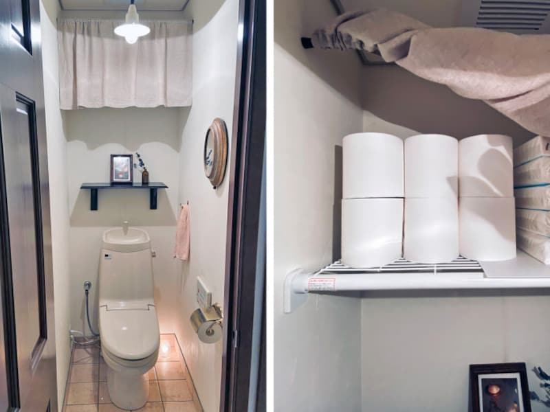 トイレのインテリアと収納