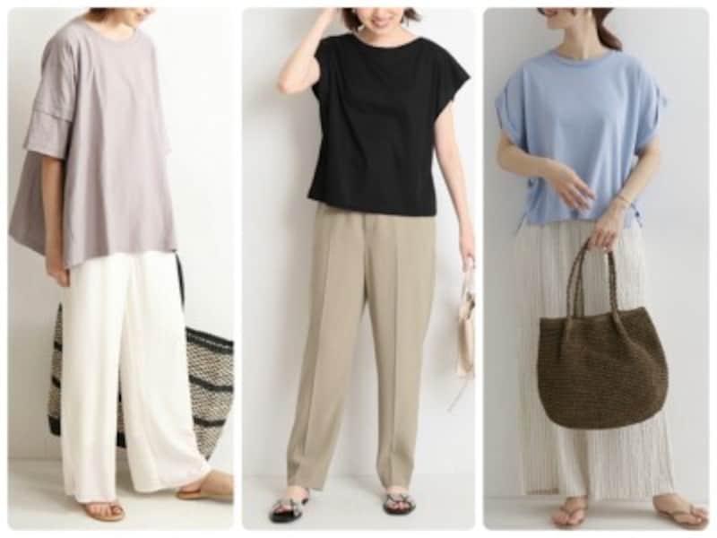 50代の女性におすすめしたいTシャツ選びのコツはこの6つ!