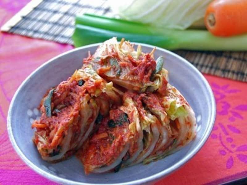 白菜とナンプラーで作るキムチ(出典:少量の白菜だけど作ってみたい! 手軽にキムチ)