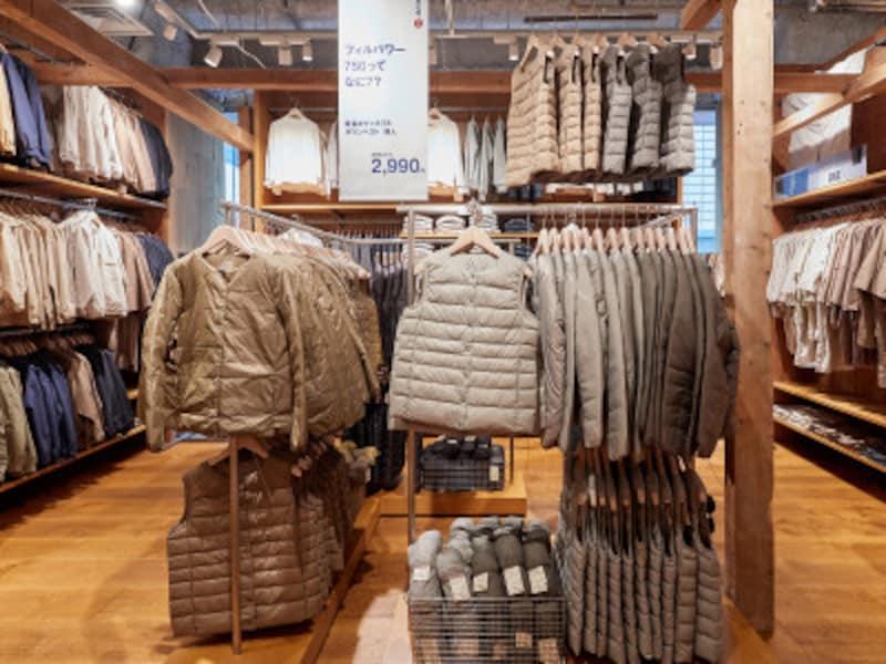 無印72品目の衣料品を価格改定
