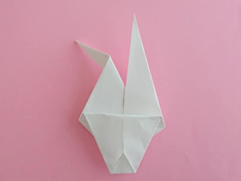 お月見 折り紙 リース うさぎ すすき 団子 三宝 三方 作り方 手作り 折り方折り紙お月見リースのうさぎの折り方