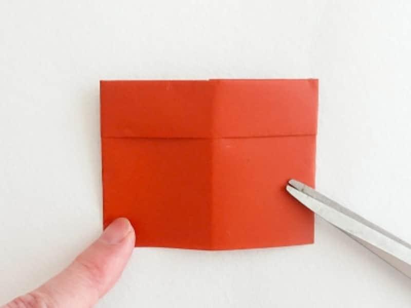 お月見 折り紙 リース うさぎ すすき 団子 三宝 三方 作り方 手作り 折り方折り紙お月見リースの三方の折り方