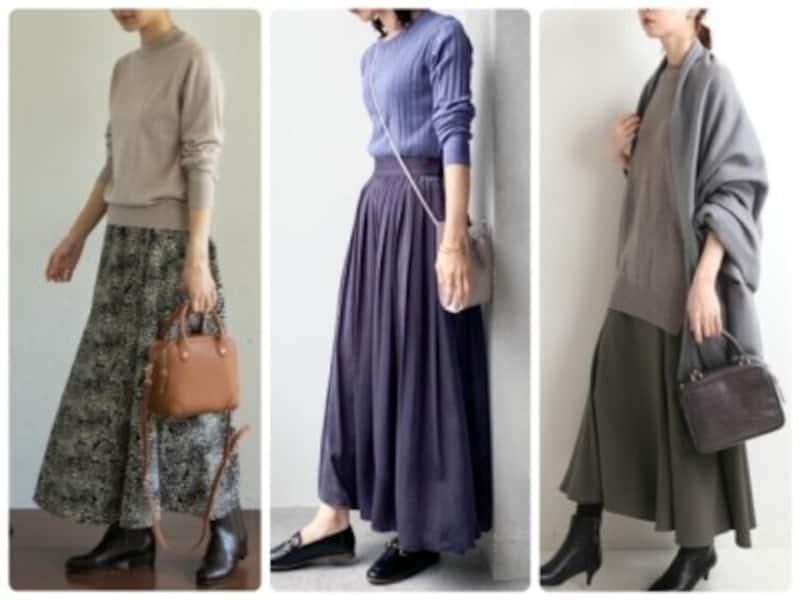 実は避けたい、スカートの選び方やコーディネートは!?