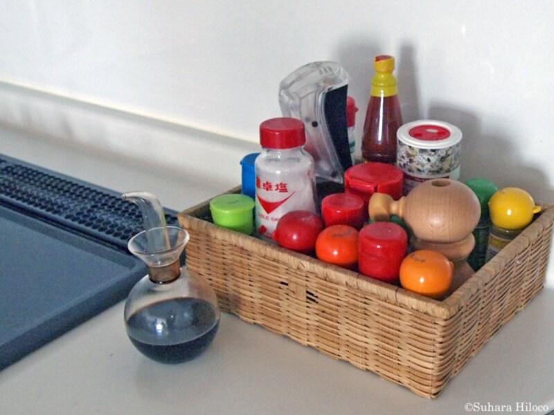 調味料スパイス収納