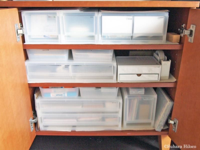 リビング収納と無印良品の収納用品