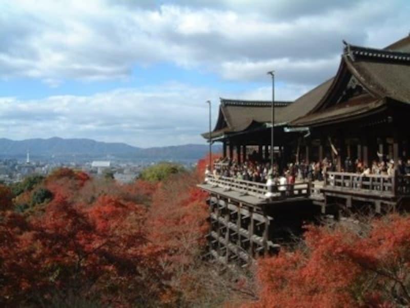 京都のおすすめ紅葉スポット情報清水寺名所