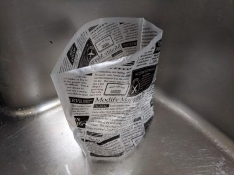 キャンドゥおすすめ生ゴミ袋自立型