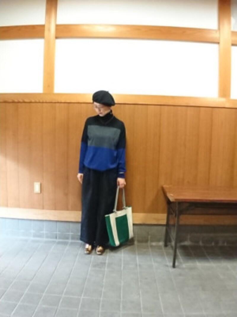 ユニクロ メリノブレンドタートルネックセーター 3990円(税抜) 出典:WEAR