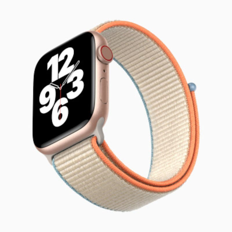 「AppleWatchSeries6」と変わらない見た目で、お値段手頃な「AppleWatchSE」