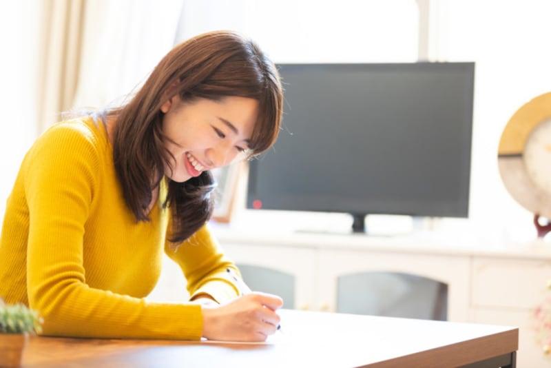アドバイス3:理想の男性リストを書き出すと、悩みが消える