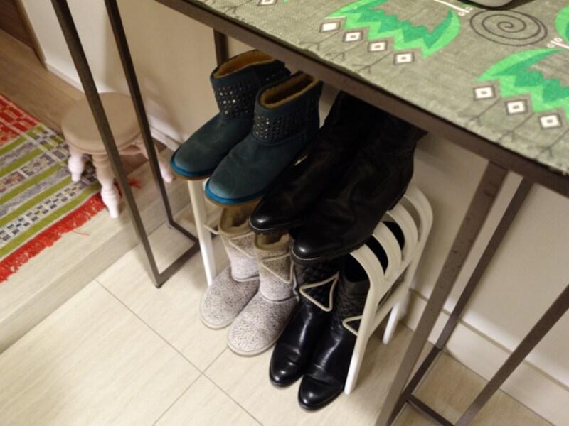 山崎実業の靴収納用品