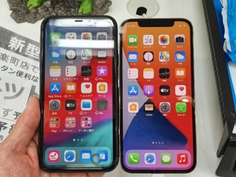 iPhone11とiPhone12