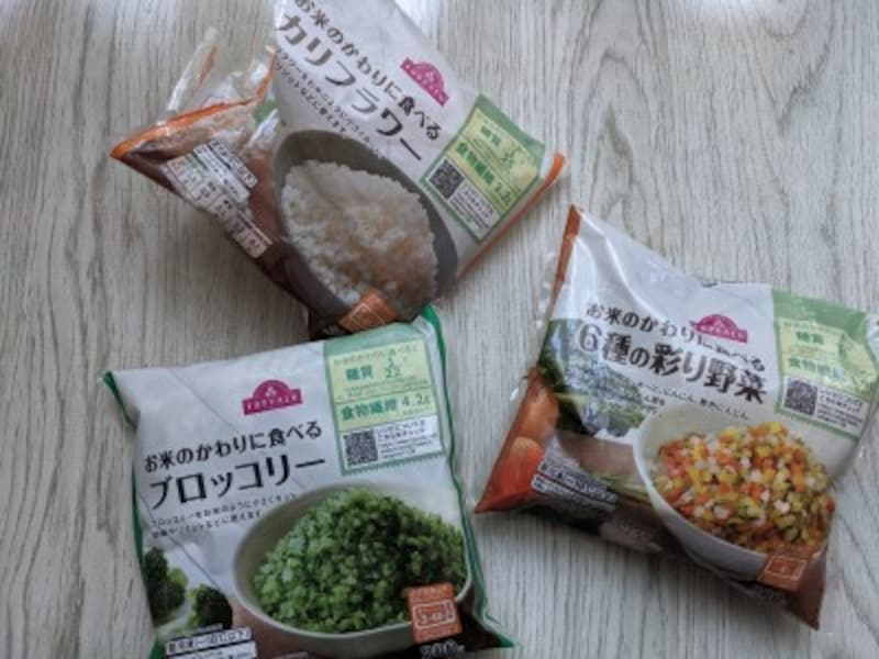 トップバリュおすすめ冷凍食品お米の代わりに食べる野菜