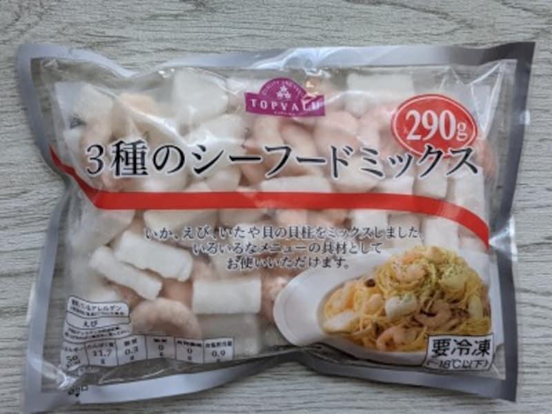トップバリュのおすすめ冷凍食品シーフードミックス