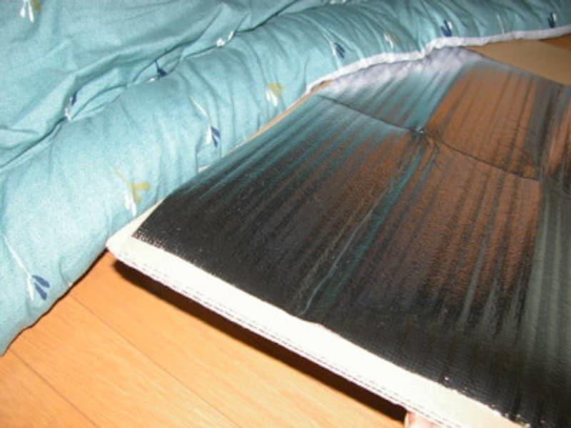 アルミシート コロナ禍の暖房費節約