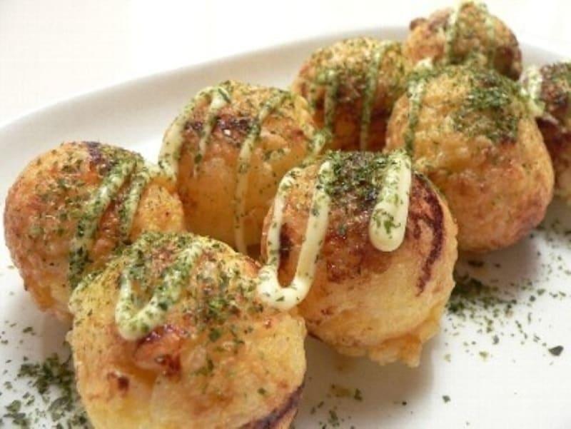 たこ焼き風焼き玉子ごはん&納豆ごはん(出典:たこ焼き風 焼き玉子ごはん&納豆ごはん)
