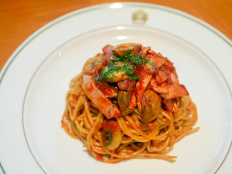 ホテルニューグランド「ザ・カフェ」のスパゲッティナポリタン